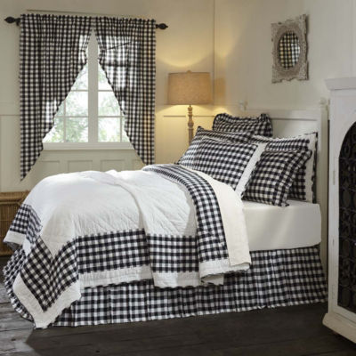 VHC Classic Country Farmhouse Bedding - Annie Buffalo Check Quilt
