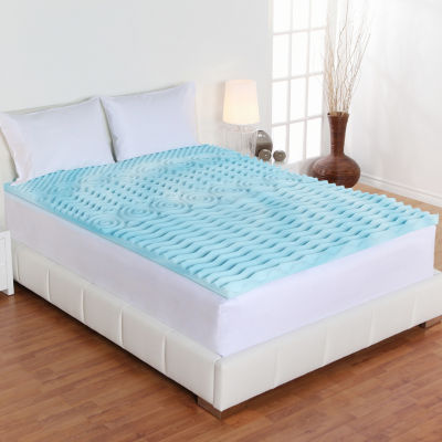 "Authentic Comfort Comfort Rx 4"" Memory Foam Mattress Topper"