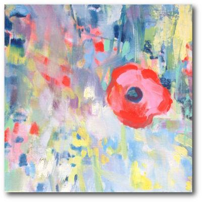 Poppy Honey IV Canvas Art