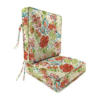 Jordan Manufacturing 2 Pc. Patio Deep Seat Cushion