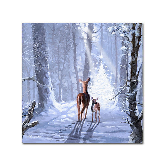 Trademark Fine Art The Macneil Studio Christmas Magic Giclee Canvas Art