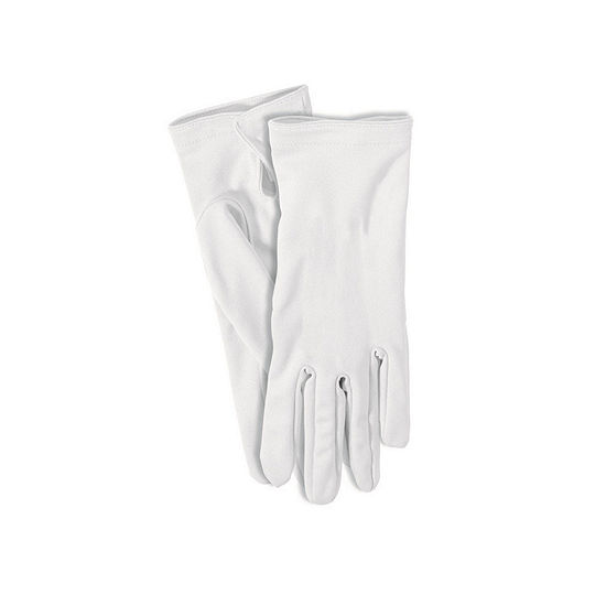White Gloves Dress Up Accessory