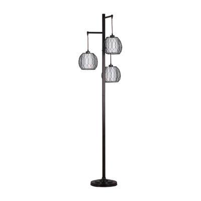"72"" Three Tier Vivid Floor Lamp"