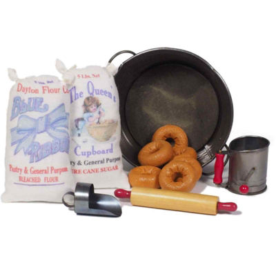 The Queen's Treasures 18 Inch Doll Complete WWI Doughnut Girl Set