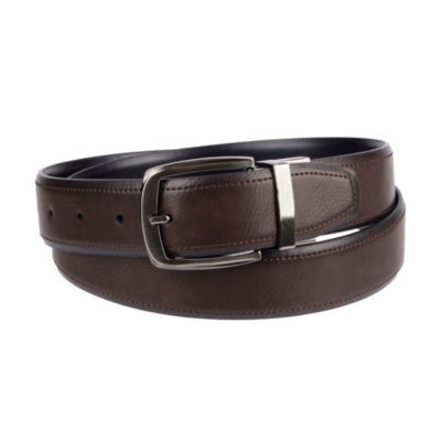 Collection by Michael Strahan  Mens Reversible Stretch Belt