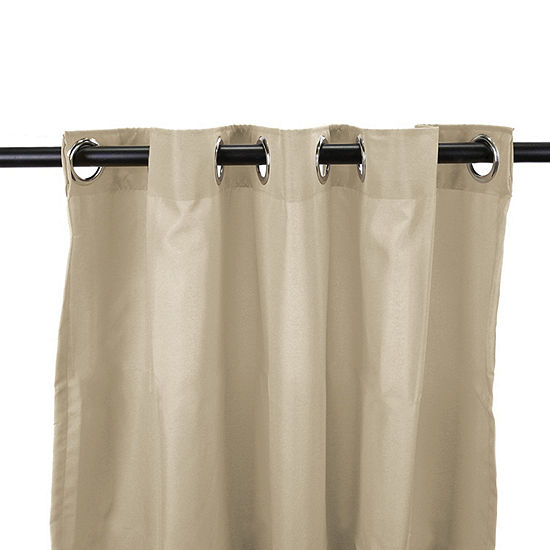 54x84 Grommet-Top Outdoor Curtain Panel