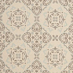 Safavieh Courtyard Collection Jesper Floral Indoor/Outdoor Area Rug
