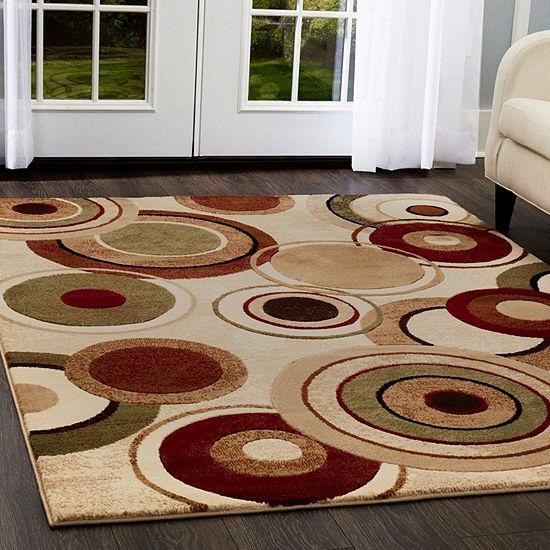 Home Dynamix Tribeca Emmitt Geometric Rectangular3-Piece Rug Set