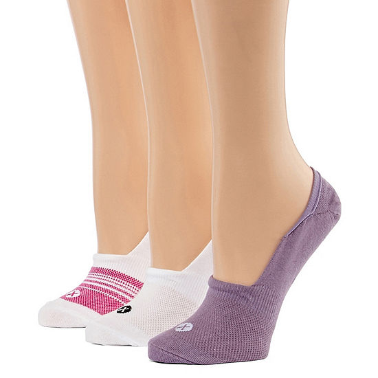 Xersion 3 Pair Knit Liner Socks - Womens Extended Size