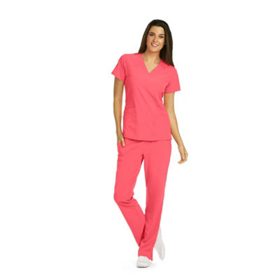 Barco™ One Women's 5106 V-Neck Scrub Top - Plus