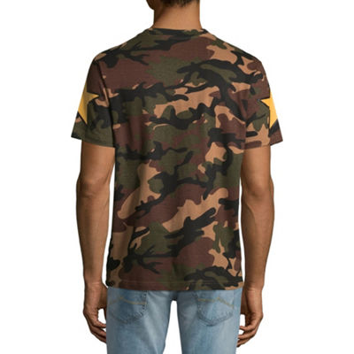 Parish Mens Crew Neck Short Sleeve Graphic T-Shirt