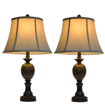 Decor Therapy Mae Table Lamp Set