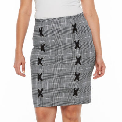 Bold Elements Double Lace Up Skirt