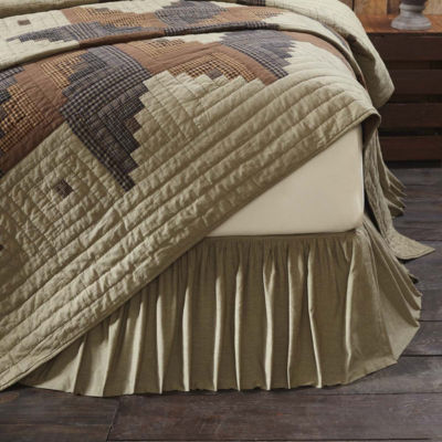 VHC Classic Country Rustic & Lodge Bedding - NovakBed Skirt