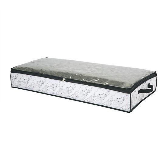 Kennedy International Under Bed Storage Bag 40x18x6-Marble Underbed Storage