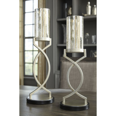 Signature Design By Ashley® Set of 2 Odele Candle Holders