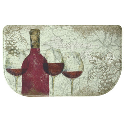 Bacova Guild Vino Personalized Rectangular Kitchen Mat