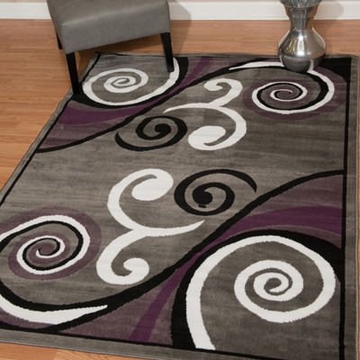 United Weavers Dallas Collection Billow Rectangular Rug