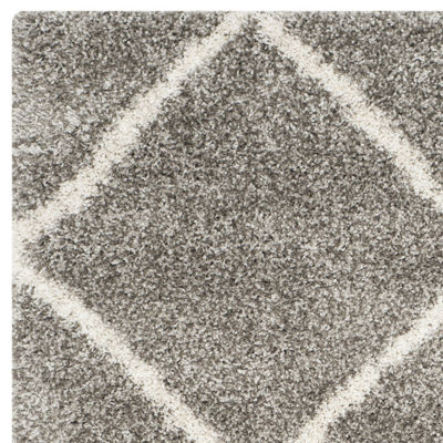 Safavieh Hudson Shag Collection Salome Geometric Area Rug