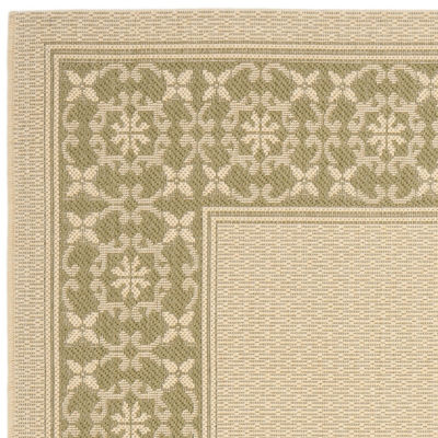 Safavieh Courtyard Collection Chao Floral Indoor/Outdoor Area Rug