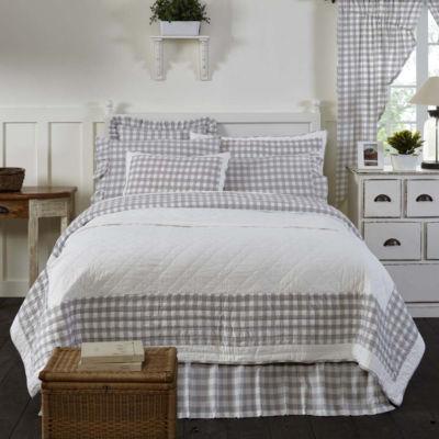 VHC Farmhouse Bedding - Annie Buffalo Check Quilt