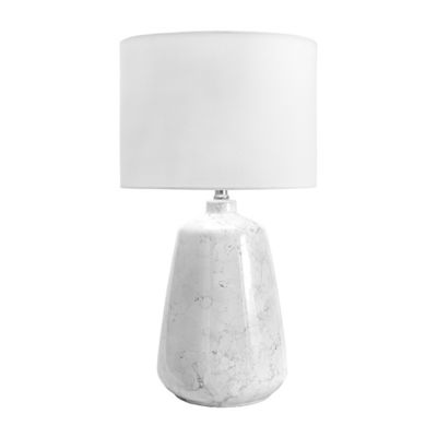 "Watch Hill 27"" Zelda Ceramic Linen Shade Table Lamp"