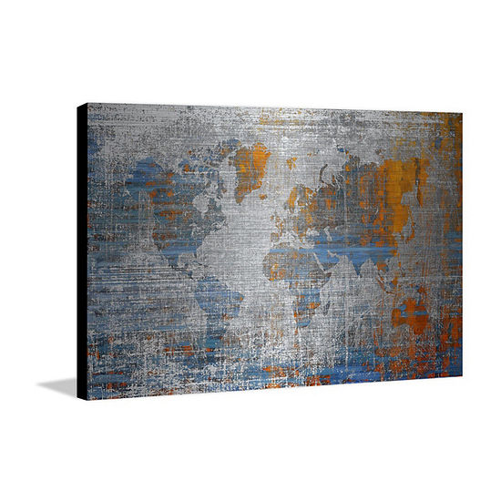 Oceans Journey Painting Print on Aluminum