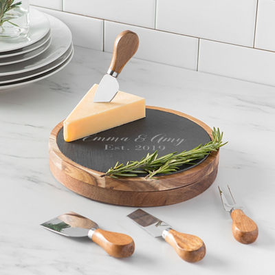 Cathy's Concepts 5-pc. Personalized Cheese Board Set