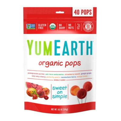 YumEarth Organic Lollipops - 8.5 oz - 3 Pack