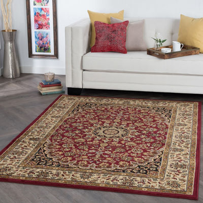 Tayse Elegance Victoria Rectangular Indoor Area Rug