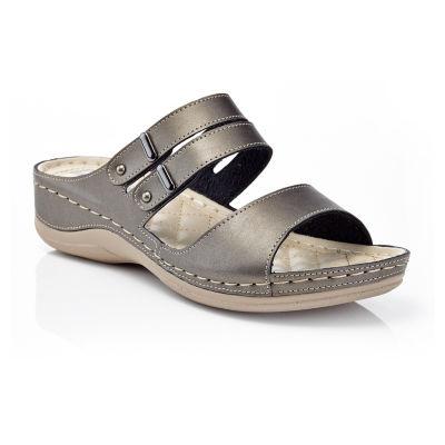 Henry Ferrera Comfort-Aaa/Brown Womens Flat Sandals