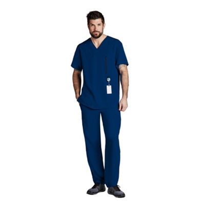 Barco™ One 0115 Men's 5 Pocket V-Neck Scrub Top