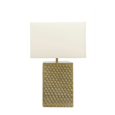 "Watch Hill 21"" Sydney Cotton Shade Table Lamp"
