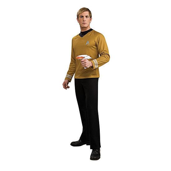 Star Trek Mens Deluxe Captain Kirk Dress Up Costume Costume Costume
