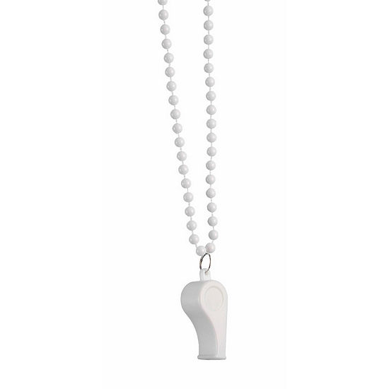 White Whistle Dress Up Accessory