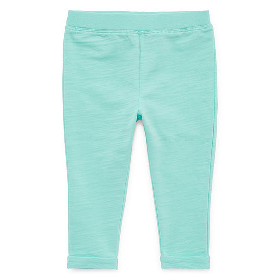 Okie Dokie Girls Jogger Straight Jogger Pant - Baby