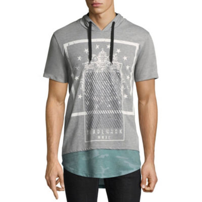 i jeans by Buffalo Short Sleeve French Terry Hoodie