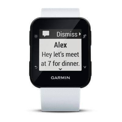 Garmin Forerunner 35 Unisex White Smart Watch-0100168903key