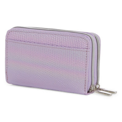 City Streets Double Zip Zip Around Wallet