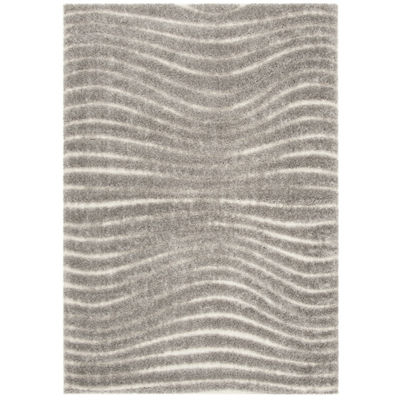 Safavieh Memphis Shag Collection Rooster GeometricArea Rug