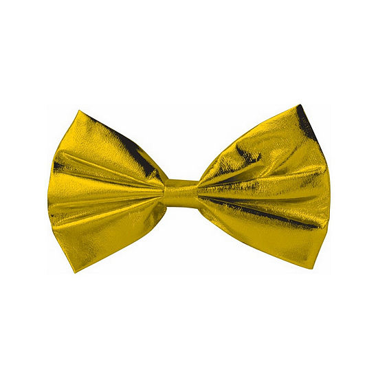Gold Bow Tie Dress Up Accessory