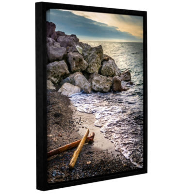 Euclid 3 Floater-Framed Gallery Wrapped Canvas