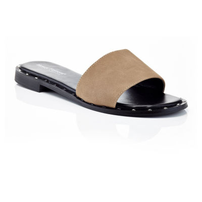 Henry Ferrera Motive-200/Black Womens Flat Sandals