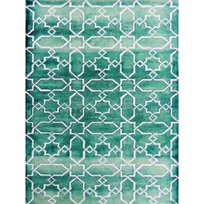 Amer Rugs Shibori AB Hand-Tufted Wool Rug