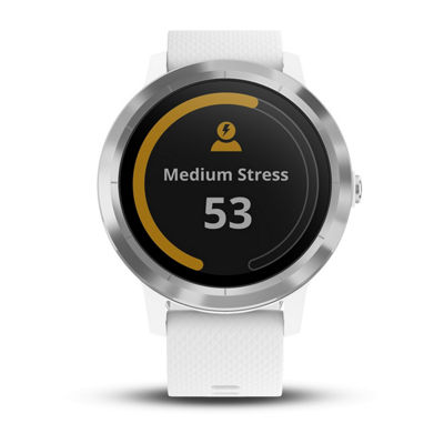 Garmin Vivoactive Unisex White Smart Watch-0100176921jcp