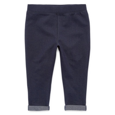 Okie Dokie Jogger Pull-On Pants - Baby Girl NB-24M