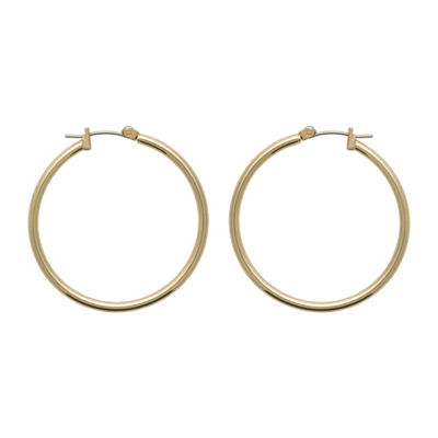Bold Elements 35mm Hoop Earrings
