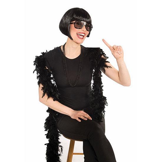 Black Bob Wig Dress Up Accessory