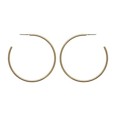 Bold Elements 51.6mm Hoop Earrings