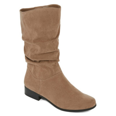 east 5th Womens Junction Slouch Boots Zip